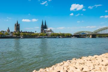 Cologne Old town view at summer- Stock Photo or Stock Video of rcfotostock   RC-Photo-Stock