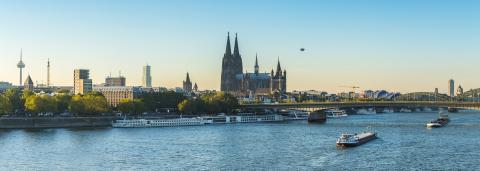 Cologne panorama : Stock Photo or Stock Video Download rcfotostock photos, images and assets rcfotostock | RC-Photo-Stock.: