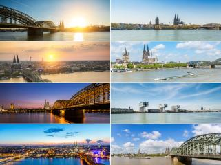 Cologne panorama skyline collage : Stock Photo or Stock Video Download rcfotostock photos, images and assets rcfotostock | RC-Photo-Stock.: