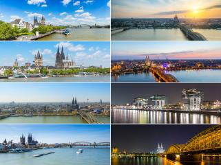 Cologne panoramic skyline collage : Stock Photo or Stock Video Download rcfotostock photos, images and assets rcfotostock | RC-Photo-Stock.: