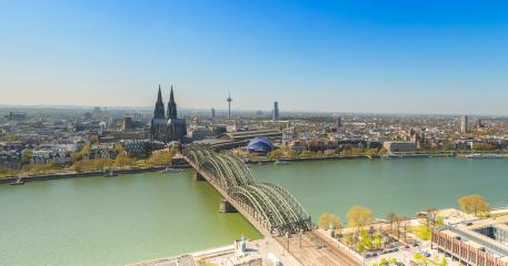 Cologne panroama city skyline- Stock Photo or Stock Video of rcfotostock | RC-Photo-Stock