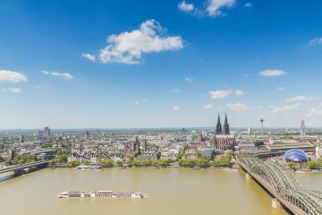 cologne skyline Aerial view- Stock Photo or Stock Video of rcfotostock | RC-Photo-Stock