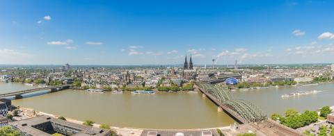 cologne skyline panorama- Stock Photo or Stock Video of rcfotostock | RC-Photo-Stock