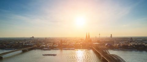 Cologne skyline view- Stock Photo or Stock Video of rcfotostock | RC-Photo-Stock