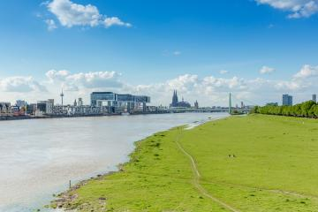 Cologne skyline view at summer in germany- Stock Photo or Stock Video of rcfotostock | RC-Photo-Stock