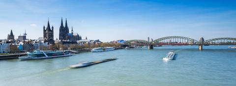 Cologne skyline with cathedral - Stock Photo or Stock Video of rcfotostock | RC-Photo-Stock