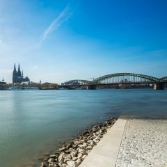 cologne view from the Rhine Boulevard : Stock Photo or Stock Video Download rcfotostock photos, images and assets rcfotostock | RC-Photo-Stock.: