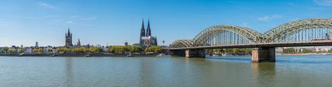 Cologne with Cologne Cathedral panorama- Stock Photo or Stock Video of rcfotostock | RC-Photo-Stock