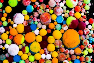 Color Explosion ink balls- Stock Photo or Stock Video of rcfotostock | RC-Photo-Stock