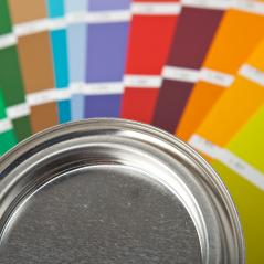 color palette guide and paint can : Stock Photo or Stock Video Download rcfotostock photos, images and assets rcfotostock | RC-Photo-Stock.: