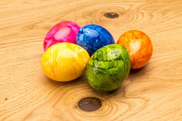 colored easter eggs - Stock Photo or Stock Video of rcfotostock | RC-Photo-Stock