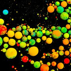 colorful Acrylic color bullets- Stock Photo or Stock Video of rcfotostock | RC-Photo-Stock