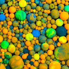 colorful balls of paint- Stock Photo or Stock Video of rcfotostock | RC-Photo-Stock