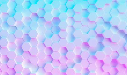 colorful bright neon uv blue and purple lights hexagonal background grid, gaming Concept image- Stock Photo or Stock Video of rcfotostock | RC-Photo-Stock