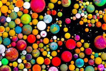 Colorful bubbles of ink : Stock Photo or Stock Video Download rcfotostock photos, images and assets rcfotostock   RC-Photo-Stock.: