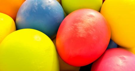 colorful easter eggs closeup - Easter concept image - 3D Rendering : Stock Photo or Stock Video Download rcfotostock photos, images and assets rcfotostock | RC-Photo-Stock.: