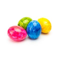 colorful easter eggs isolated on white- Stock Photo or Stock Video of rcfotostock | RC-Photo-Stock