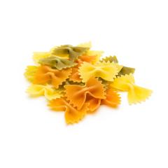 colorful Farfalle pasta noodles- Stock Photo or Stock Video of rcfotostock | RC-Photo-Stock