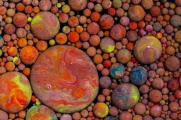 colorful paint balls Abstract background- Stock Photo or Stock Video of rcfotostock | RC-Photo-Stock