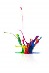 Colorful paint splashing- Stock Photo or Stock Video of rcfotostock | RC-Photo-Stock