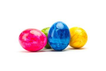 colorful painted easter eggs- Stock Photo or Stock Video of rcfotostock | RC-Photo-Stock