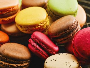 Colorful tasty french macaroons : Stock Photo or Stock Video Download rcfotostock photos, images and assets rcfotostock | RC-Photo-Stock.: