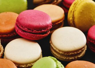 Colorful tasty macaroons- Stock Photo or Stock Video of rcfotostock | RC-Photo-Stock