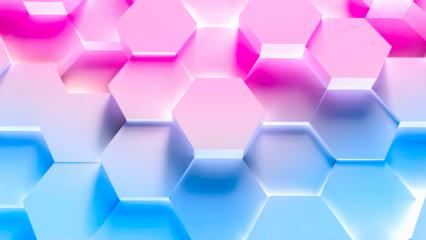 colorful technology hexagon pattern background  : Stock Photo or Stock Video Download rcfotostock photos, images and assets rcfotostock | RC-Photo-Stock.: