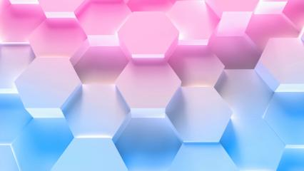 colorful technology hexagon pattern background - Stock Photo or Stock Video of rcfotostock | RC-Photo-Stock