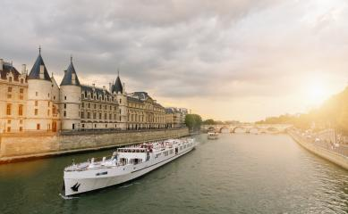 Consiergerie, Pont Neuf and Seine river st sunset in paris, france- Stock Photo or Stock Video of rcfotostock | RC-Photo-Stock