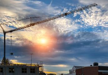 construction crane at sunset : Stock Photo or Stock Video Download rcfotostock photos, images and assets rcfotostock | RC-Photo-Stock.: