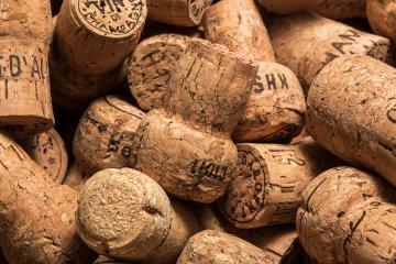 corks from champagne bottels- Stock Photo or Stock Video of rcfotostock | RC-Photo-Stock