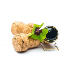corks with Lucky Clover : Stock Photo or Stock Video Download rcfotostock photos, images and assets rcfotostock | RC-Photo-Stock.: