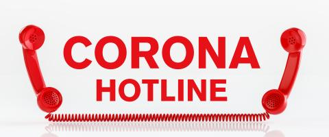 Corona Covid-19 hotline with two red phones : Stock Photo or Stock Video Download rcfotostock photos, images and assets rcfotostock | RC-Photo-Stock.: