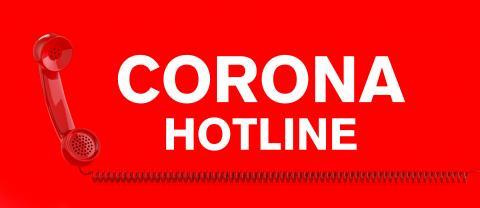 Corona Hotline with landline telephone receiver- Stock Photo or Stock Video of rcfotostock   RC-Photo-Stock