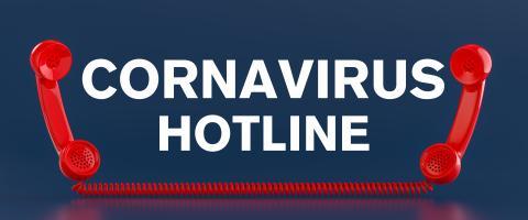 Coronavirus Covid-19 hotline with two red phones- Stock Photo or Stock Video of rcfotostock   RC-Photo-Stock