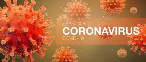 Coronavirus Sars-CoV-2 Covid-19 concept as panorama header (3D Rendering)- Stock Photo or Stock Video of rcfotostock | RC-Photo-Stock