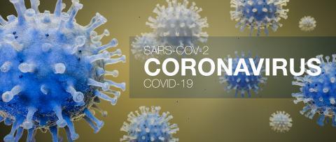 Coronavirus Sars-CoV-2 Covid-19 concept as panorama header (3D Rendering)- Stock Photo or Stock Video of rcfotostock | RC-Photo-Stock