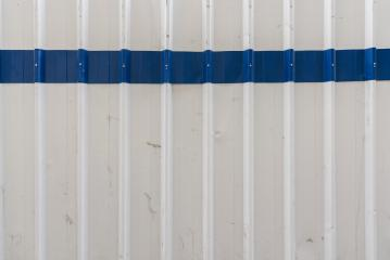Corrugated white and blue metal texture surface background- Stock Photo or Stock Video of rcfotostock | RC-Photo-Stock