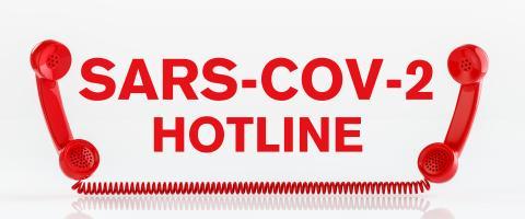 Covid-19 Coronavirus Hotline with landline telephone receiver - Stock Photo or Stock Video of rcfotostock | RC-Photo-Stock