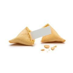 cracked fortune cookie with note and crumbs- Stock Photo or Stock Video of rcfotostock   RC-Photo-Stock
