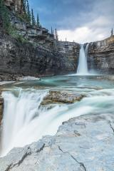 crescent falls waterfall in banff Canada - Stock Photo or Stock Video of rcfotostock | RC-Photo-Stock