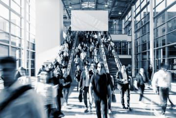 Crowd of anonymous people walking- Stock Photo or Stock Video of rcfotostock | RC-Photo-Stock