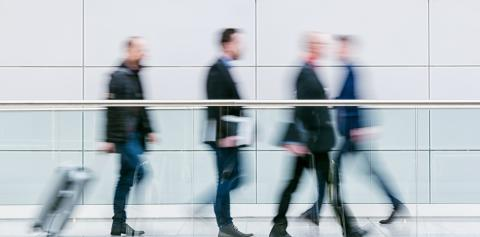 crowd of blurred anonymous commuter walking in a floor- Stock Photo or Stock Video of rcfotostock | RC-Photo-Stock