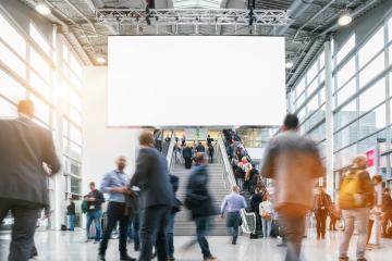 crowd of Blurred business people - Stock Photo or Stock Video of rcfotostock | RC-Photo-Stock