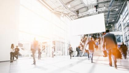 crowd of blurred people at a airport- Stock Photo or Stock Video of rcfotostock | RC-Photo-Stock