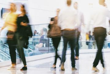 Crowd of people in a shopping center- Stock Photo or Stock Video of rcfotostock | RC-Photo-Stock