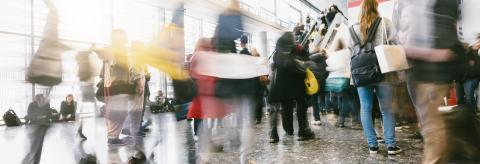 crowd of people in a Shopping mall- Stock Photo or Stock Video of rcfotostock | RC-Photo-Stock