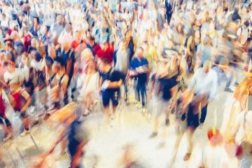 crowd of people in a shopping street- Stock Photo or Stock Video of rcfotostock | RC-Photo-Stock