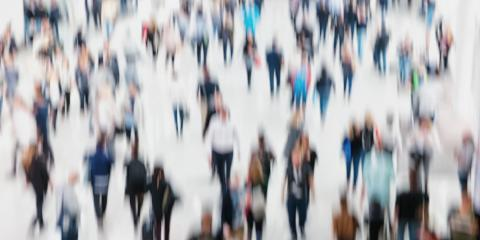 crowd of People silhouettes generic background with an intentional blur effect applied, Humans and location unrecognizable- Stock Photo or Stock Video of rcfotostock | RC-Photo-Stock